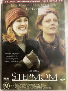 STEPMOM - DVD Region 4 - Julia Roberts Susan Sarandon BRAND NEW SEALED