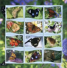 Tonga niafo'ou 2012 farfalle butterflies mnh