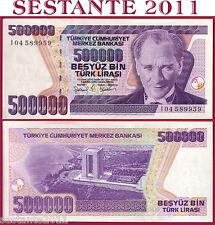 TURKEY TURCHIA, 500000 500.000 LIRA L. 1970 (1998) PREFIX I  - P 212 - FDS / UNC