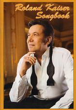 Roland Kaiser Songbook Noten für Klavier Gitarre Gesang