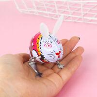 Creative Lovely Rabbit Design Classic Clockwork Toy Wind Up Toy Children Gift~