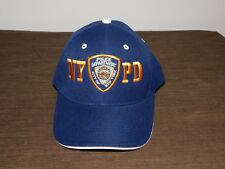 POLICE BASEBALL CAP HAT NYPD POLICE DEPT CITY OF NEW YORK  NEW UNUSED