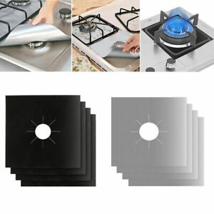 Non-stick Range Cook Stove Protector Cover Burner Clean Gas Top Liner
