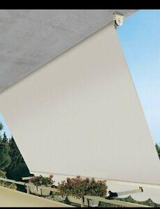Tenda da sole a caduta da balcone in alluminio con bracci 400x300 cm C/ASTA