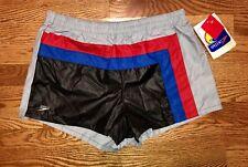SPEEDO Swim Trunks NEW Vintage 80s 90s DEADSTOCK Multi Color NWT Shorts M Medium