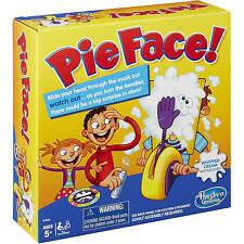 Pie Face Game Challenge Board Game Kids Family Fun Hasbro Free Shipping