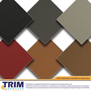 A+ OEM Quality Matt Grained Vinyl Leatherette with 3MM Scrim foam backing 6 Cols