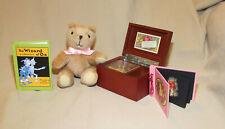 American Girl Doll Samantha's Bedtime Accessories Music Box Bear Book Retired
