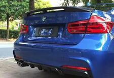 BMW F30 F80 M3 ABS Euro Racing Rear Trunk Spoiler Lip Wing Sport Trim Lid M 3