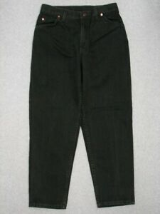 OC13437 1997 ***LEVI'S*** 951 RELAXED FIT TAPERED LEG WOMENS JEANS sz14S GREEN