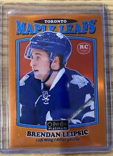 2016-17 O-Pee-Chee Platinum BRENDAN LEIPSIC Retro Rookie Orange Rainbow 29/49 RC