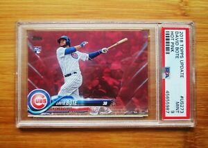 2018 Topps Update #US273 Pink /50 DAVID BOTE - ROOKIE PSA 9 MINT