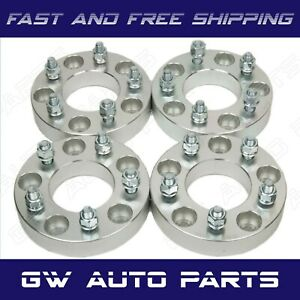"""4PCs 1.25"""" WHEEL SPACER ADAPTERS 5X5 TO 5X4.75 JEEP Dodge Chrysler Fiat"""