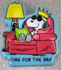 Peanuts Snoopy Cake Topper Decoration Vtg NOS Pop Tops Bakery Crafts Licensed