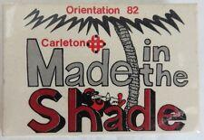 1982 CARLETON UNIVERSITY OTTAWA ORIENTATION PINBACK BUTTON           (INV12926)