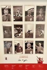 Liverpool FA Cup Kings 1965 Large Poster Signed by Ian St John