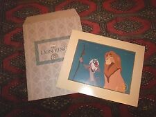 THE LION KING EXCLUSIVE COMMEMORATIVE LITHOGRAPH 1995 DISNEY  - NEW PRINT