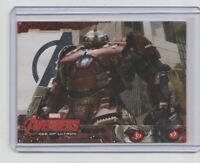 Avengers Age of Ultron Silver Parallel Trading Card  #64