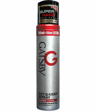 Gatsby Set Keep Hair Spray Super Hard Level-4 Styler Hold Shine Product 250ml