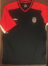 Umbro Men's Red, White, Blue England Soccer Jersey Size  XL