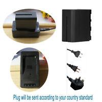 Battery / Rapid Charger for Sony NP-F970 960 NP-F750 YONGNUO YN300 YN-160 YN-140