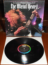 LP THE METAL YEARS OST (Capitol 88 ITALY) Guns'n'Roses Megadeth Motorhead NM!