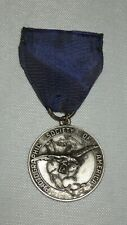 Sterling Silver Dieges & Clust Medal with ribbon Photographic Society of America