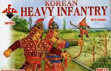 Plastic figure model kits 1/72 Korean Heavy Infantry XVI-XVII Cent RED BOX 72014