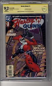 Harley Quinn (2000) # 1 - CBCS 9.2 WHITE SS Terry Dodson