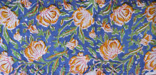 Multi Hand block Print Running Loose Indian Cotton Fabrics Printed Decor 3 Yard