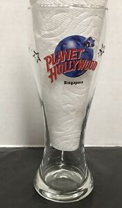 Planet Hollywood Singapore Souvenir Tall Beer Glass