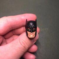 "Painted Custom 1/12 Scale Batman Red Eye Head Sculpt for 6"" Figure Mezco Kaiyodo"