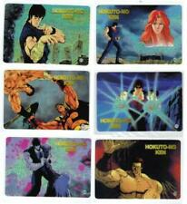 SET 36 LASER CARDS MANGA/ANIME FIST OF THE NORTH STAR/HOKUTO NO KEN IL GUERRIERO