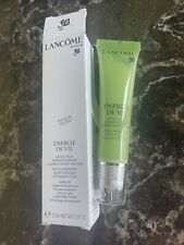 Lancome-Energie De Vie-Illuminating & Anti-Fatigue Cooling Eye Gel- 0.5 oz New