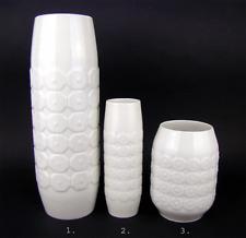 beautiful Op Art Vase #2 H. 16,5 cm Comb Decor Hutschenreuther 1960s vintage