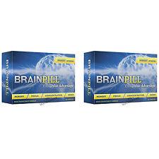 2 BRAINPILL Focus Supplement BOOST Memory Cognizin Synapse factor Brain Pill