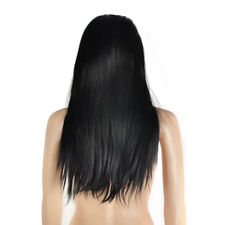 Women Full Lace Wig 100 Remy Brazilian Human Hair Wigs Wave Straight 18""