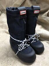 New HUNTER Women's ORIGINAL MOON BOOTS Winter Navy Insulated Sz5 Retail $255