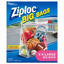 Ziploc, 8 Pack, Extra Large, Big Bag, Extra Heavy Duty Bags