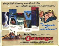 IN SEARCH OF THE CASTAWAYS Movie POSTER 22x28 Half Sheet Hayley Mills Maurice