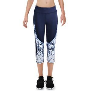 Splendid Women's Ombre Snake Print Cropped Activewear Fitness Leggings