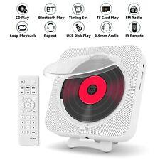 Tragbarer CD Player Wandmontierbarer Anti-Skip Für Home HIFI AKKU AUX Bluetooth