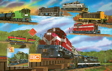 Jigsaw Puzzle Train For the Love of Trains 1000 pieces NEW Made in the USA