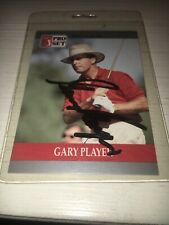 Gary Player Signed 1990 Golf Card