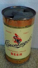 *Old* Leinenkugels Chippewa Pride Flat top Beer can w/vanity lid