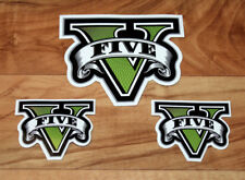 GTA V 5 Grand Theft Auto Rare Promo Sticker Set PS3 PS4 Xbox One 360 ..