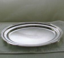 Oval Platter 18 in. with Jubilee, Patented Applied Border