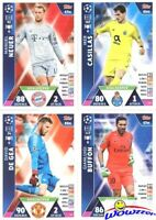 2018/19 Topps Match Attax Champions League HUGE 21 Card GoalKeeper Complete Set!