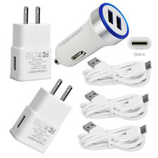 Cell Phone Accessories For Samsung Galaxy S8 S9 S10 S10e Note 8 Wall Car Charger