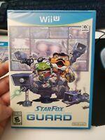Star Fox Guard (Nintendo Wii U, 2016) brand new sealed rare